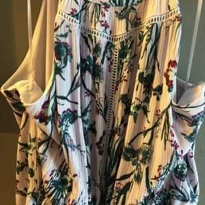 rachel ashwell Dresses - Rachel Ashwell Boho Maxi Layered Skirt